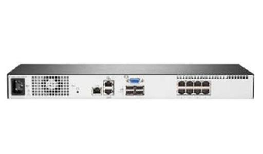 Image of Hpe Q1p54a 1x1x8 G4 Kvm Ip Console Switch