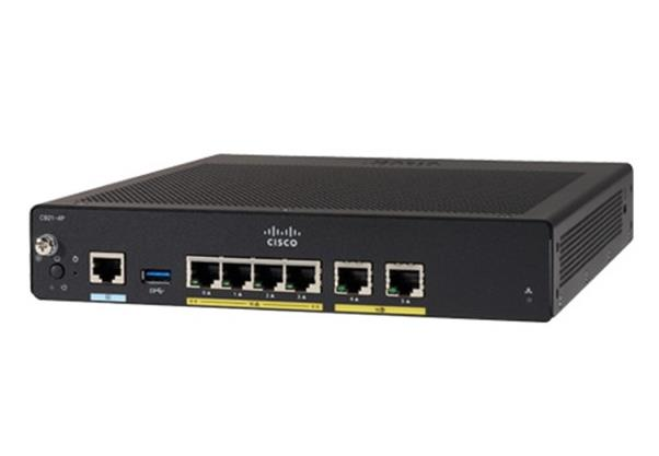 Image of Cisco 927 Vdsl2/adsl2+ Over Pots And 1ge/sfp Sec Router C927-4p