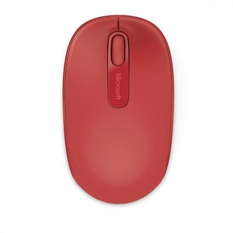Image of Microsoft Wireless Mobile Mouse 1850 Flame Red