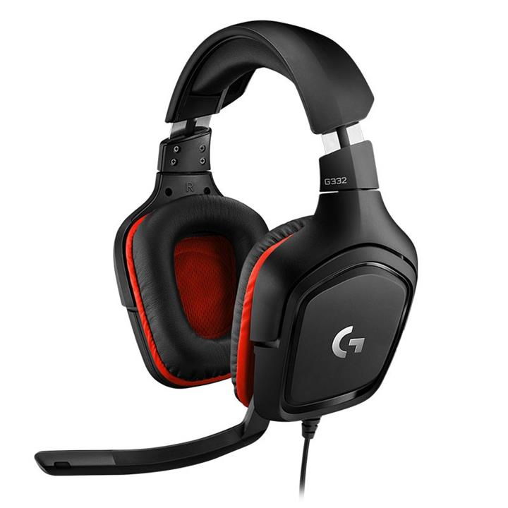 Image of Logitech 981-000823 G332 Wired Gaming Headset Black