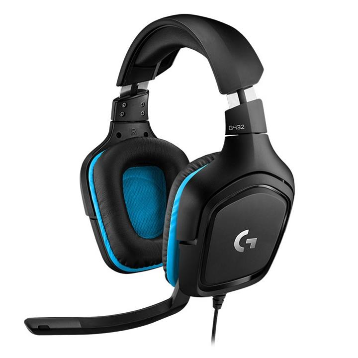 Image of Logitech G432 7.1 Surround Sound Gaming Headset 981-000824