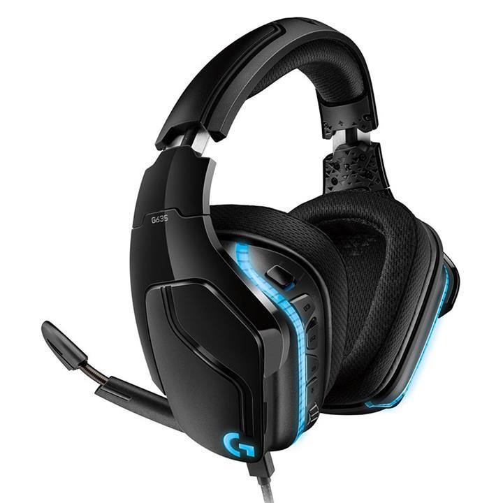 Image of Logitech 981-000826 G635 7.1 Surround Sound Lightsync Gaming Headset