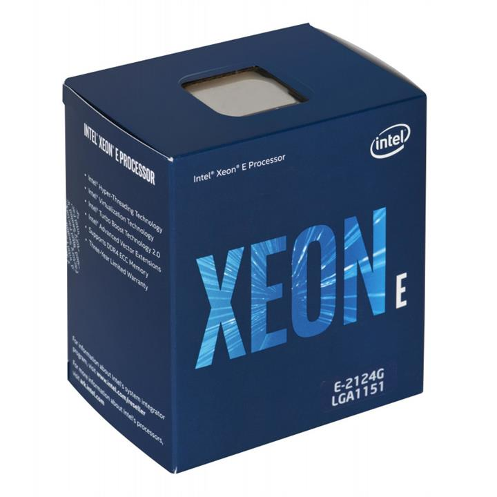 Image of Intel Xeon E-2124 Lga1151 3.3ghz Cpu Processor