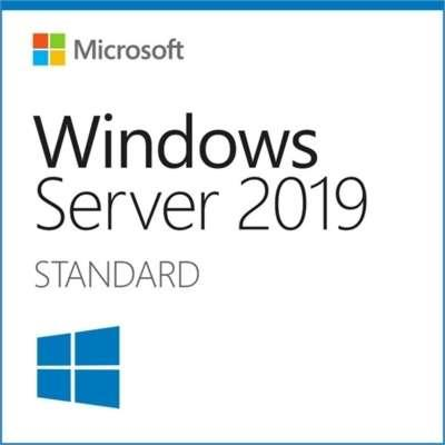 Image of Microsoft Windows Server 2019 Standard Base License And Media 16 Core With 10 User Cals