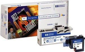 Image of Hp 81 Black Printhead+cleaner (c4950a)