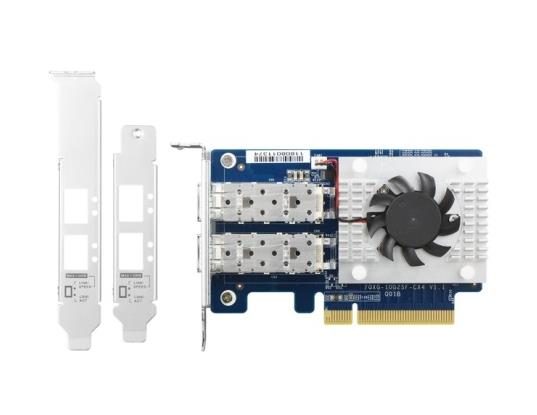 Image of Qnap Qxg-10g2sf-cx4 Dual-port Sfp+ 10gbe Network Expansion Card