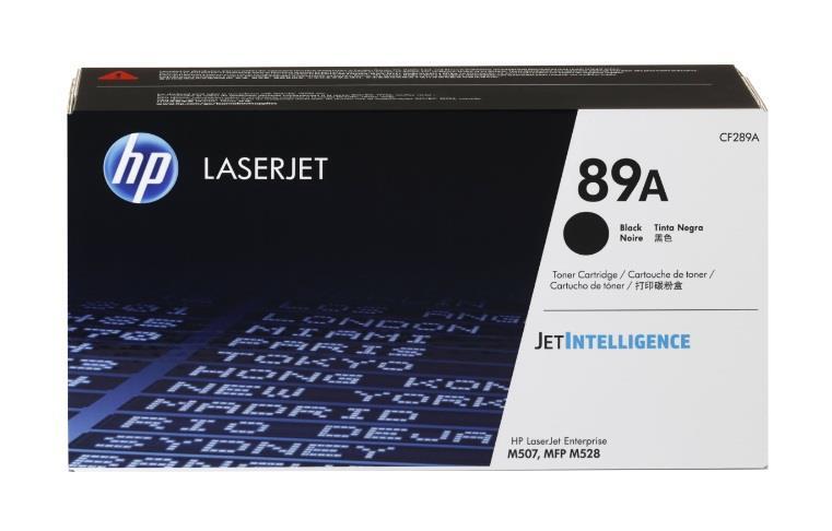 Image of Hp 89a Black Laserjet Toner Cartridge