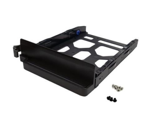 """Image of Qnap Tray-35-nk-blk04 Black Hdd Tray For 3.5"""" And 2.5"""" Drives Without Key Lock For Ts-253b,ts-453b,ts-653b"""