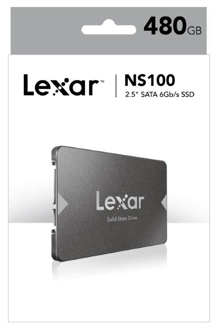"""Image of Lexar Lns100-512rb 512gb, 2.5"""" Sata Iii (6gb/s), Sequential Read Up To 550mb/s"""