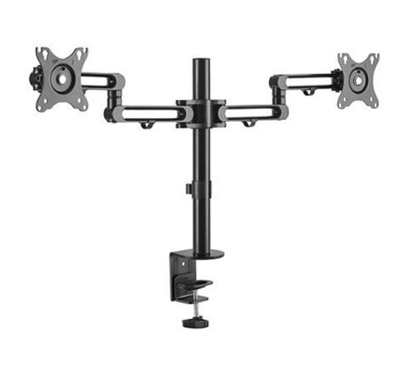 Image of Brateck Dual Monitor Premium Aluminum Articulating Monitor Arm Ldt30-c024