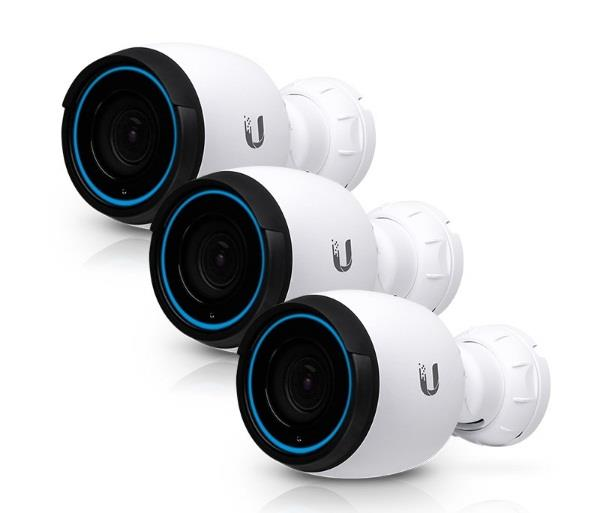 Image of Ubiquiti Networks Unifi Video Uvc-g4-pro-3 4k 3x Zoom Ip Camera - 3 Pack