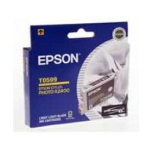 Image of Epson T0599 Light Light Bk Ink 450 Pages Light Black