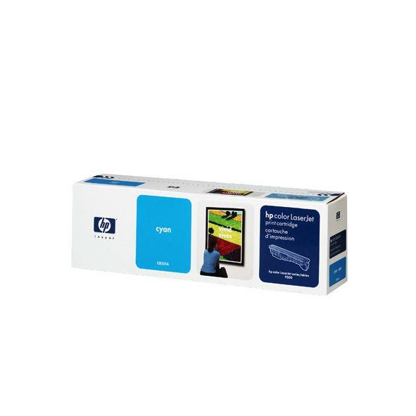 Image of Hp Cyan Toner Cartridge 25k Pages (c8551a)