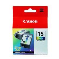 Image of Canon Bci15c Colour Ink Tank 100 Pages Colour