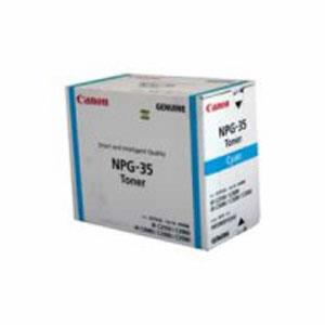 Image of Canon Tg35 Gpr23 Cyan Toner 14,000 Pages Cyan