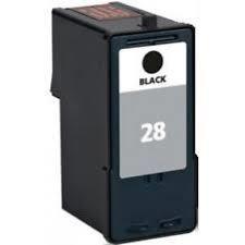 Image of Lexmark #28 Black Return Program Print Cartridge