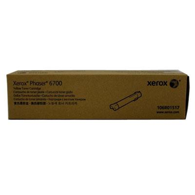 Image of Fuji Xerox Phaser 106r01517 Yell Toner 12,000 Pages Yellow
