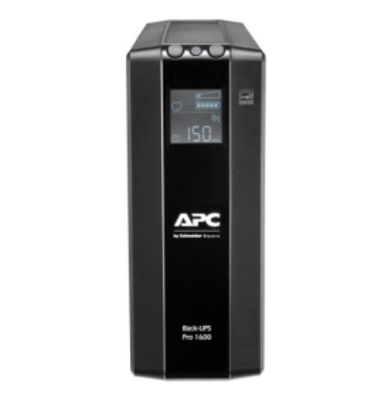 Image of Apc Back-ups Pro With Avr & Lcd Br1600mi Tower 1600va Ups