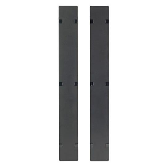 Image of Apc Ar7586 Hinged Covers For Netshelter Sx 750mm Wide 45u Vertical Cable Manager (qty 2)