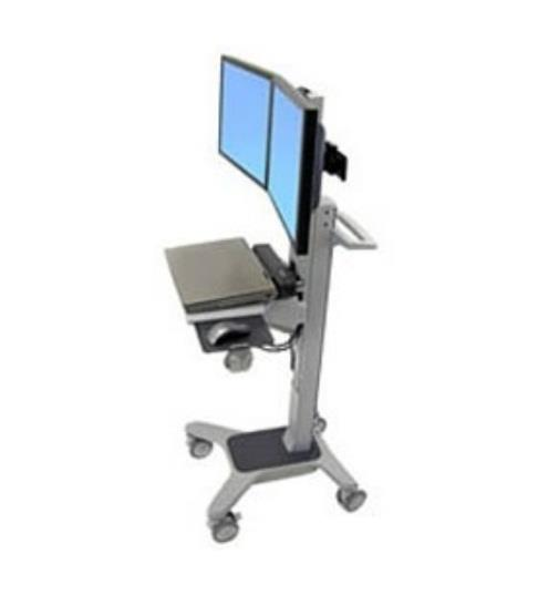 Image of Ergotron 24-194-055 Neo-flex Dual Wideview Compact Workspace