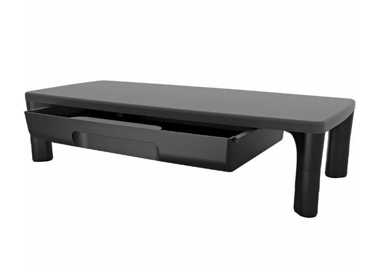 Image of Kensington K55725 Smartfit Monitor Stand With Drawer