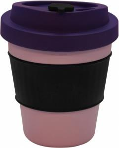 EcoSouLife All Natural BioSip Coffee Cup LghtBerry/Berry 350ml