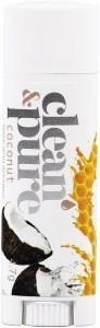 Clean & Pure Coconut Lip Balm 4.7g