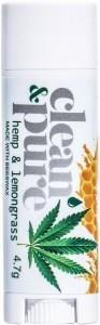 Clean & Pure Hemp & Lemongrass Lip Balm 4.7g