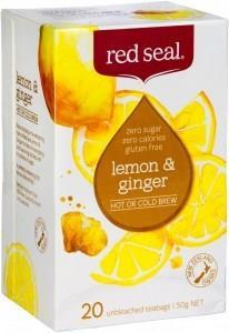 Red Seal Lemon & Ginger 20Teabags