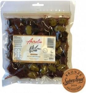 Aurelio Organic Meditteranean Olives G/F 300g