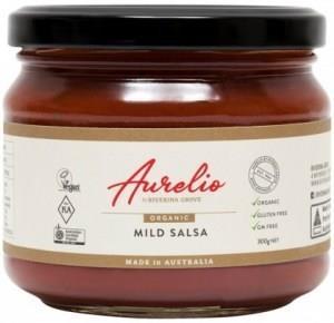 Aurelio Organic Mild Salsa G/F 300g