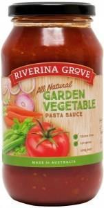 Riverina Grove Garden Vegetable Pasta Sauce G/F 500g