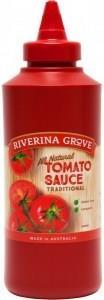 Riverina Grove Tomato Sauce G/F 500ml