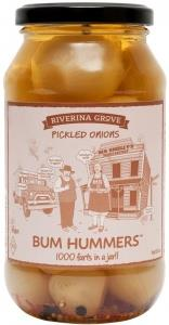 Riverina Grove Bum Hummers Pickled Onions G/F 500g