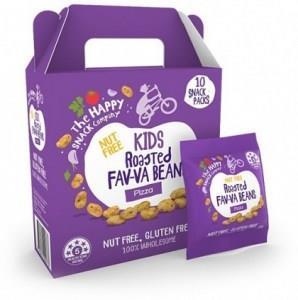 The Happy Snack Company KIDS Fav-va Beans Pizza 10x15g Pack