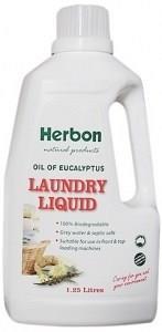 Herbon Laundry Liquid Oil of Eucalyptus 1.25L