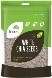 Lotus Chia Seeds White (Bag) 125g