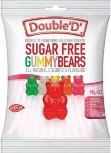 Double D Sugar Free Gummy Bears 90g