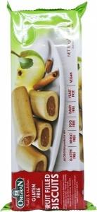 Orgran Apple & Cinnamon Fruit Filled Biscuits 175g