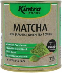 Kintra Foods Matcha 100% Japanese Green Tea Powder 110g