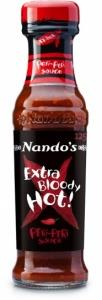 Nandos Extra Bloody Hot Sauce 125g