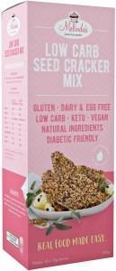 Melindas Low Carb Seed Cracker Mix G/F 200g