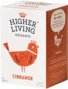 Higher Living Organic Cinnamon Tea Caffeine Free 15Teabags