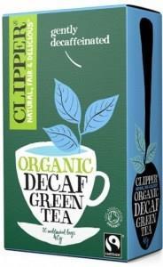 Clipper Fair Trade Organic Decaf Green Tea 20Teabags