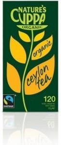 Natures Cuppa Organic Ceylon 120 Teabags