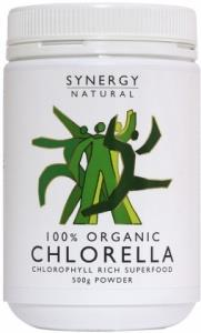 Synergy Chlorella Powder 500g Organic