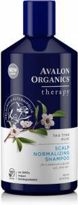 Avalon Organics Tea Tree Mint Scalp Normalizing Shampoo 400ml