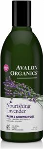 Avalon Organics Nourishing Lavender Bath & Shower Gel 350ml