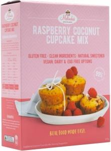 Melindas Raspberry Coconut Cupcakes G/F Fructose Free Pre-Mix 320g
