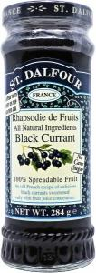 St Dalfour Black Currant Fruit Spread 284g